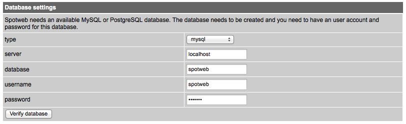 Installing spotweb nzb indexer on synology NAS «Thanatos's